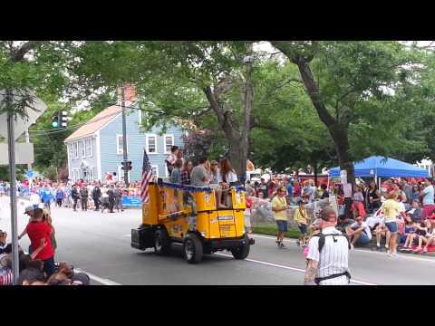Bristol, RI, Parade July 4th 2015 Part Two