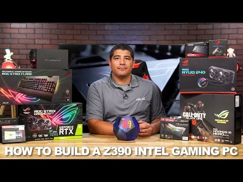 How To Build A Z390 Intel 9th Gen RGB Gaming PC From Start To Finish