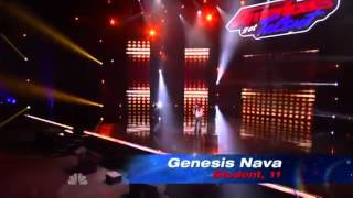 Genesis Keren Nava on Americas Got Talent Season 8 2013