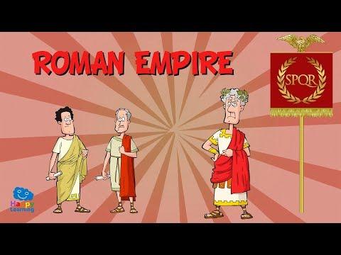 ROMAN EMPIRE | Educational Video For Kids.