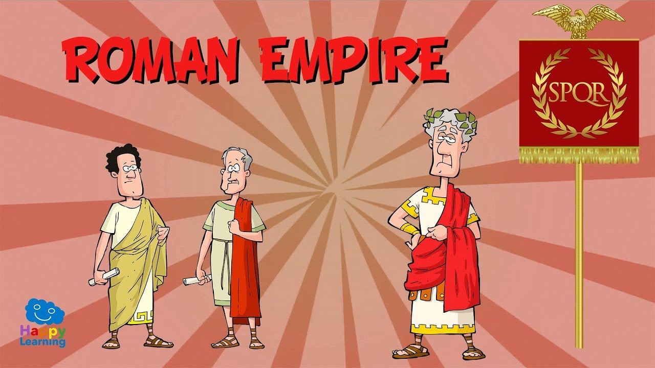 ROMAN EMPIRE | Educational Video for Kids