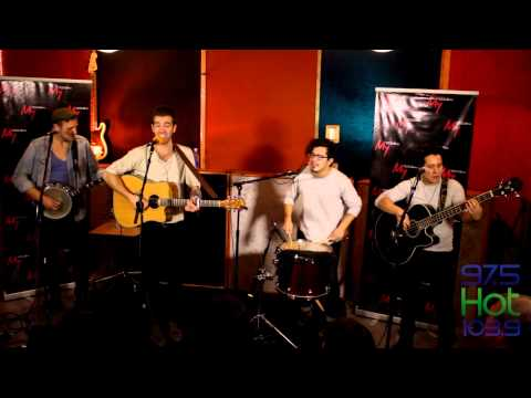 "American Authors ""Trouble"" Live and Rare Session"