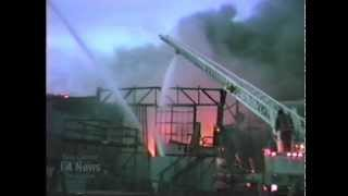 Three Alarm Royal Eagle Yachts Commercial Structure FIre Port Of Tacoma