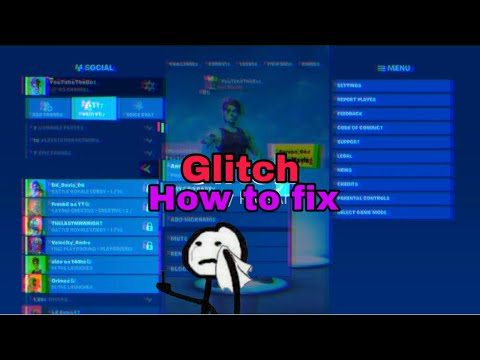 How To Fix The Glitch When It Doesn't Let You Invite Or Join Your Friends In Fortnite Easy Fix