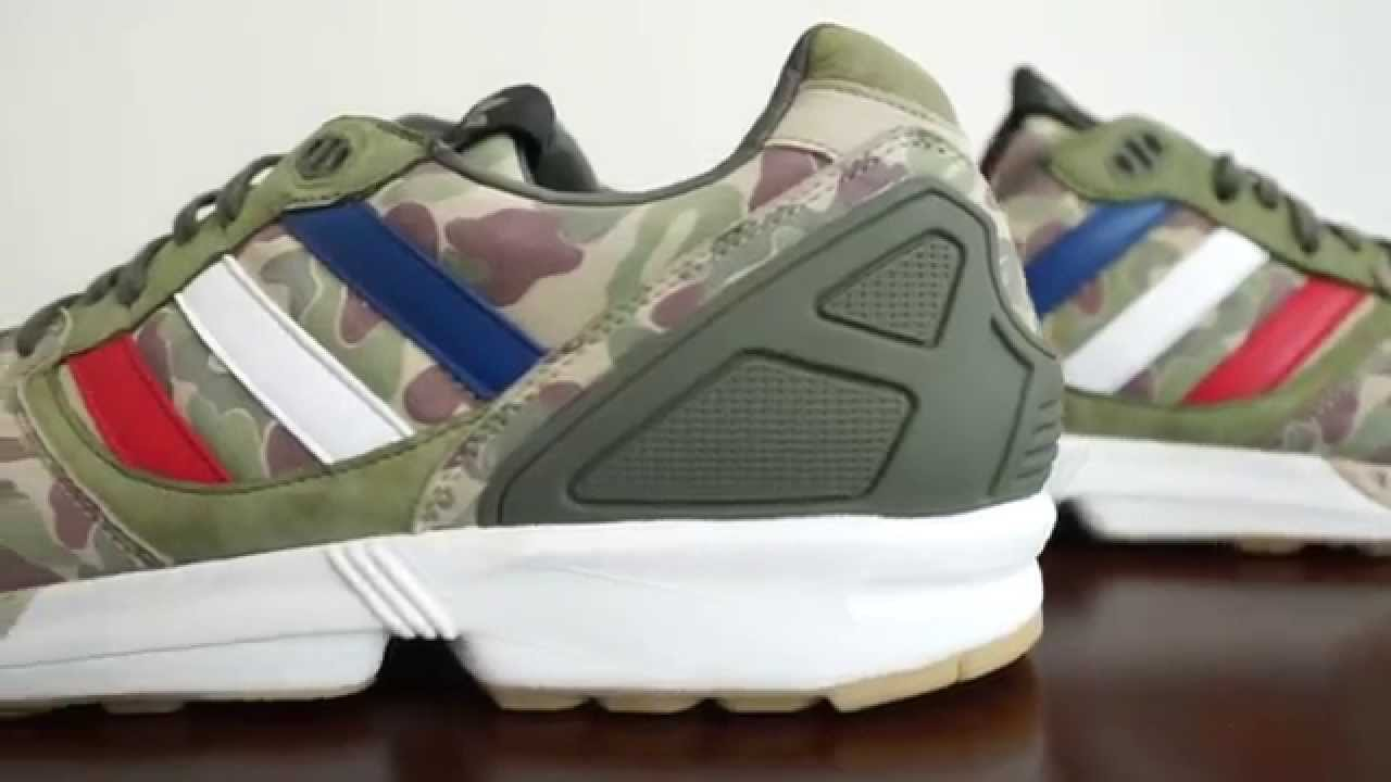 b27ab7a98 Detailed Look - UNDFTD x BAPE x adidas Consortium ZX5000 - YouTube