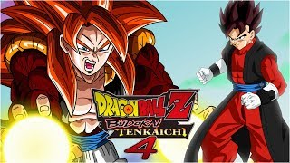 [FR] Dragon Ball Z budokai Tenkaichi 4 Episode 8 - GOGETA SSJ4 VS VEGETO XENO | Gameplay Francais