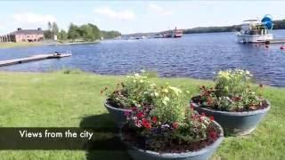 Finland,  Savonlinna and the Saimma lake region