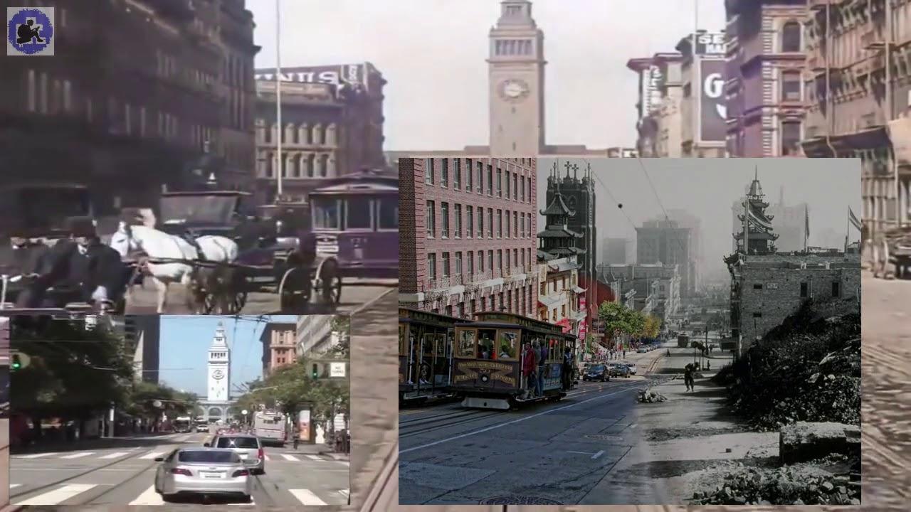 Как в Сан-Франциско в 1906 году землетрясение разрушило весь город ... | 720x1280