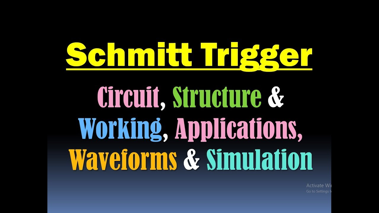 Schmitt Trigger Circuit Applications Waveforms Simulator Will Help You Easily Simulate Circuits Developed On A Circuitsimulator Circuitsimulation
