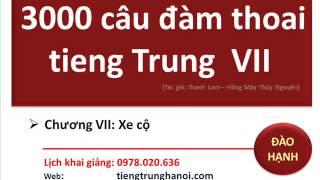 3000 câu đàm thoại học tiếng Trung P5 : DIVU  (sách cực hay, song ngữ, bán tại lớp cô Đào Hạnh
