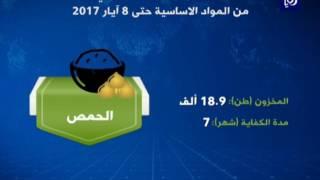 وزارة الصناعة مخزون المملكة الاستراتيجي من المواد الغذائية يتجاوز المستويات الأمنة - (9-5-2017)