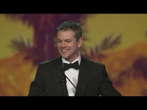 Matt Damon and Johnny Depp win first awards of 2016