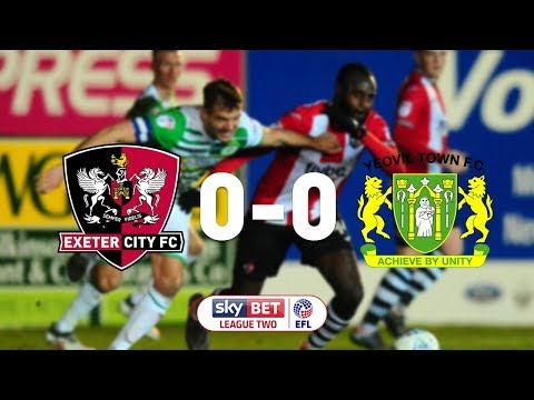 Exeter City 0 Yeovil Town 0 (13/3/18) EFL Sky Bet League 2