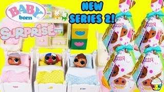 New Baby Born Surprise Series 2 Babysitting Color Change Diapers Gender Reveal Bottles