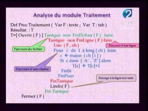 Informatique Bac Youtube