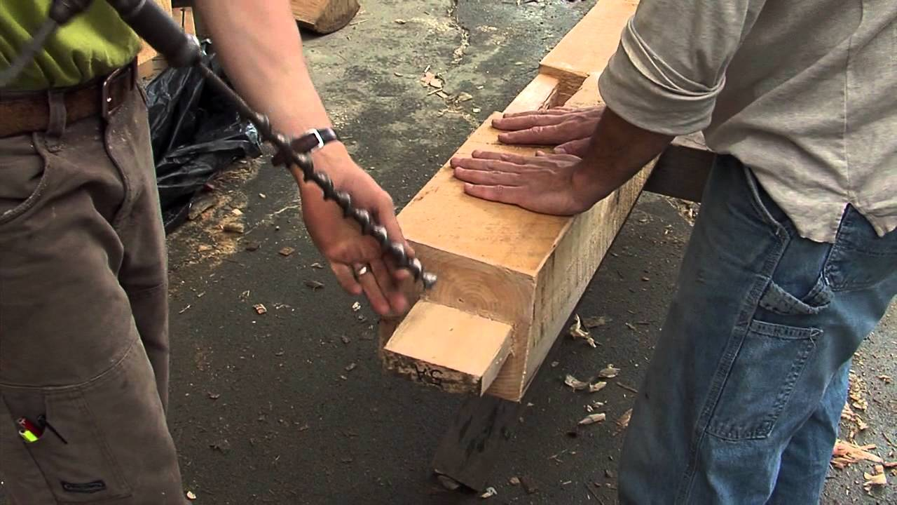 Timber Framing Techniques - YouTube