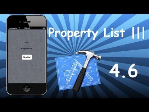 Xcode 4.6 Tutorial - Property List Part 3 (Create .plist programmatically)
