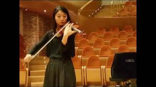 Lena Yokoyama Plays Lorenzo Cassi Violin 2015 Clip3