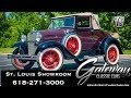 1931 Ford Model A Cabriolet   Gateway Classic Cars St. Louis  #8123