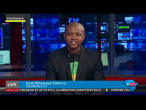 As It Happens with ANCYL's Mlondi Mkhize. Part 1