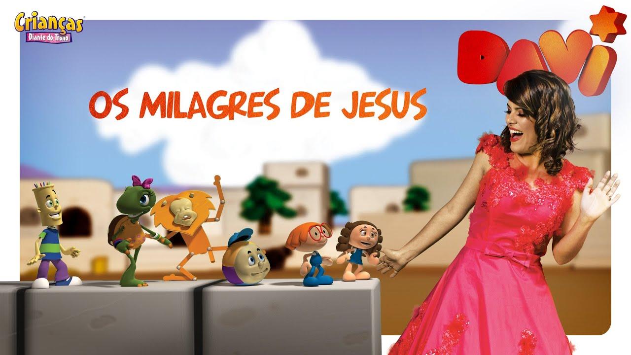 Os Milagres de Jesus - Crianças Diante do Trono