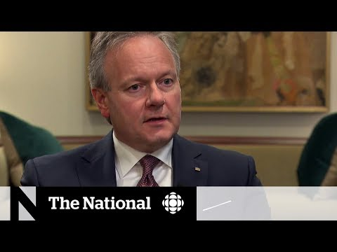 Stephen Poloz addresses concerns about high Canadian household debt