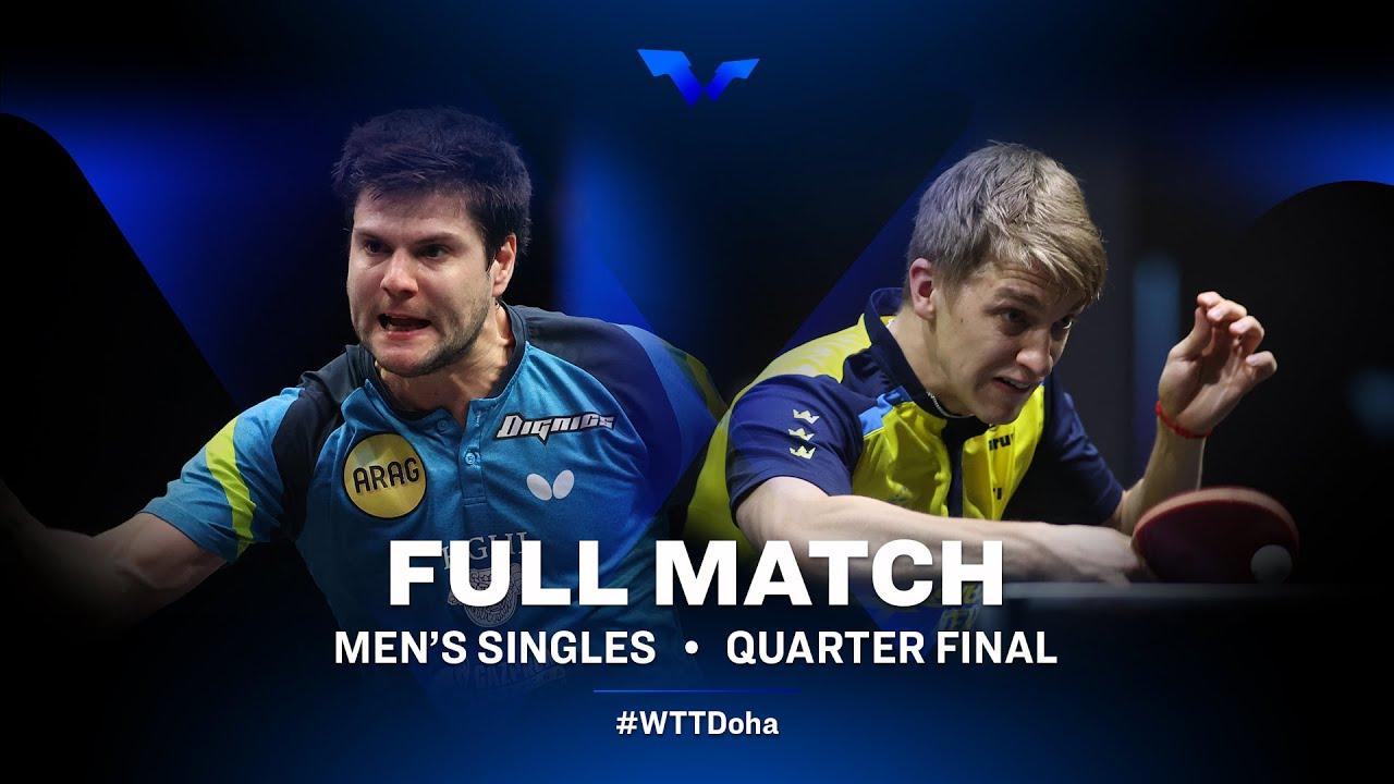 Download Dimitrij Ovtcharov vs Anton Kallberg   WTT Star Contender Doha 2021 - March (FULL Match)