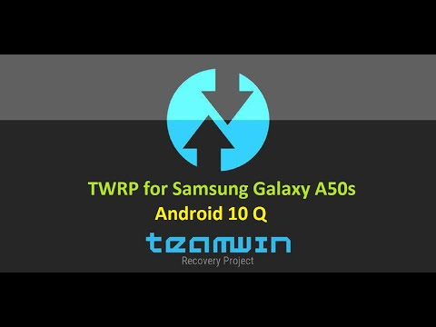 TWRP for Samsung Galaxy A50s Android 10 Q