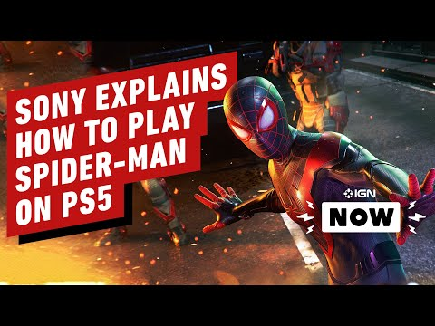 Sony Tries To Explain How To Play Spider-Man on PS5 - IGN Now