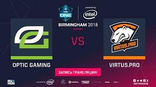 OpTic vs Virtus.pro, ESL One Birmingham [Eiritel, Mortalles]