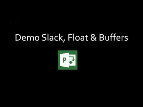 Webinar Wednesday - Use MS Project to Create Float, Slack &