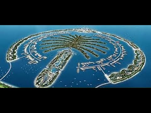 Dubai Man Made Island Palm Island A Wonder - YouTube