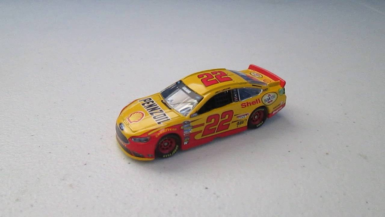 Diecast Review 129 Joey Logano 22 2016 Shell Pennzoil Youtube