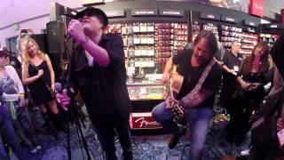 Blues Traveler Run Around Acoustic @ Namm 2015 Fender Booth