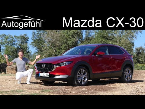 Mazda CX-30 FULL REVIEW new SUV Skyactiv-G vs new Skyactiv-X comparison - Autogefühl