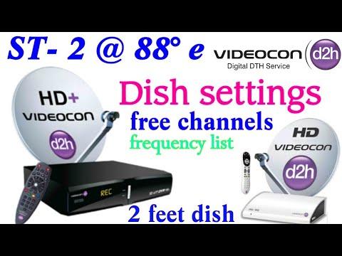 insat 4a @83 0°e C Band And KU Band Dish Setting| Free channel list