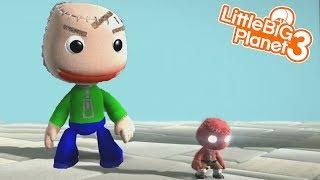 BALDI IS AFTER US | LittleBIGPlanet 3 Gameplay LBP 3