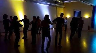Flashmob-Auffrischung @Casino blau-gelb