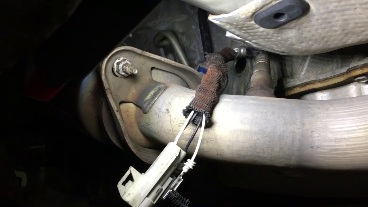 2008 Cadillac Bank 2 o2 sensor replacement diagnosis YouTube