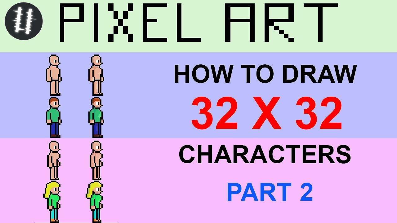 how to draw pixel art beginner