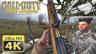 Call Of Duty United Offensive Old Games In 4k Youtube