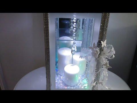 With Voice Over/Diy/Dollar Tree/Glam/Light Up/Lantern/
