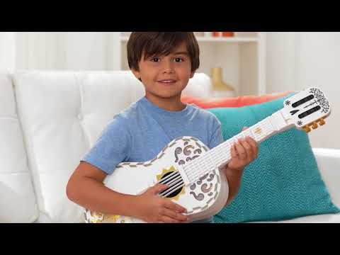 Mattel's Disney/Pixar Coco Toy Guitar Demo