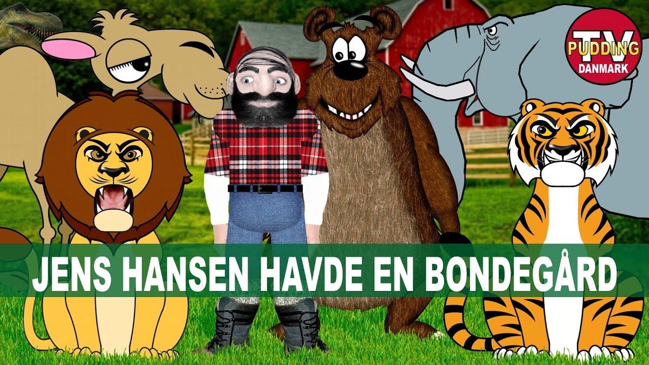 Jens Hansen havde en bondegård - Danske børnesange