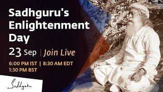 Sadhguru's Enlightenment Day, 23 Sep 2020 - Join the Livestream