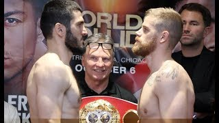 CAN JOHNSON PULL IT OFF? - ARTUR BETERBIEV v CALLUM JOHNSON - OFFICIAL WEIGH IN / WORLD COLLIDE