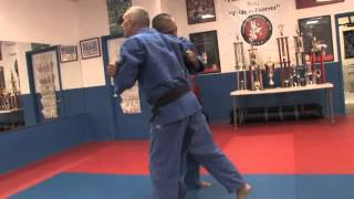 Major Outside Foot Reap - How to do it - Judo Lessons
