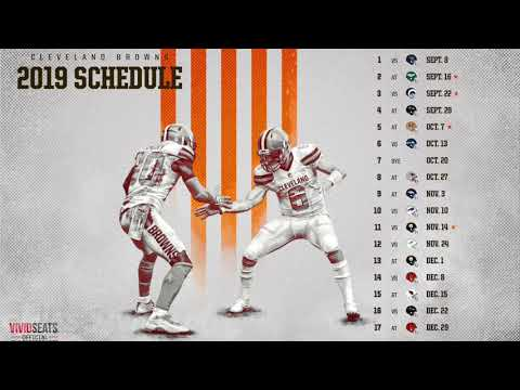 Browns Schedule 2020 Nfl Clear & Unbiased Facts About CLEVELAND BROWNS WINS NFL 2019 2020