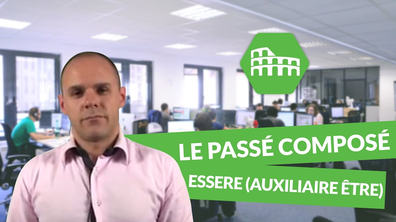 Le Passe Compose Verbes Irreguliers Italien Youtube