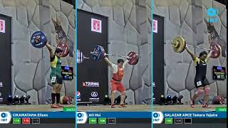 Snatch lifts comparison - Grand Prix Lima - Women 49kg